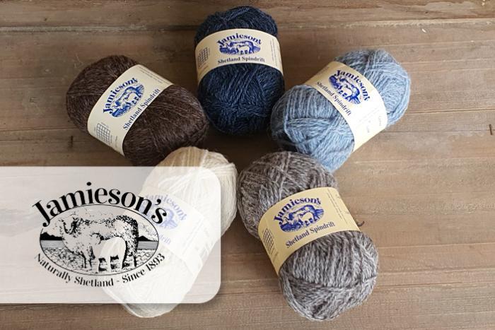 Wolle von Jamiesons of Shetland